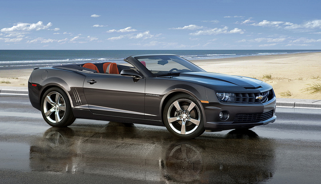The 2011 Camaro Convertible will be offered with a standard 312-