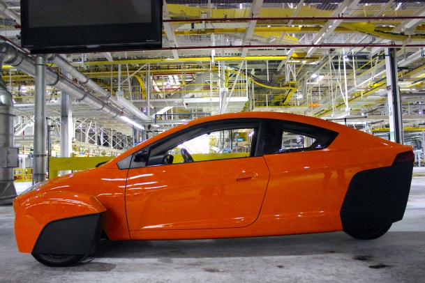 Elio at the plant